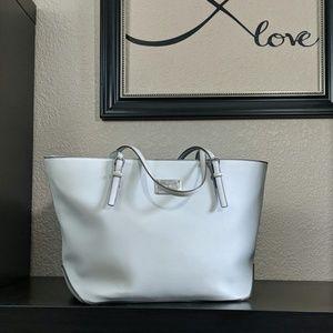 Light gray Nine West purse